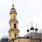 Колокольня - фото для записи Монастыри Москвы...