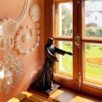 Монастырское окно - для записи Устав Монастыря...
