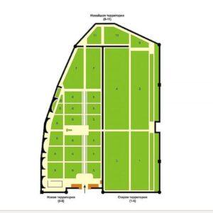Фото - Новодевичье кладбище – знаменитый погост (Схема)