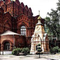 Фото - Часовня монахини Рафаилы в Скорбященском монастыре (Москва)