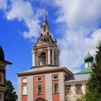 Фото - Колокольня бывшего Знаменского монастыря (город Москва)