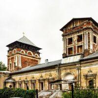 Фото - Тихвинская Церковь в Симоновом монастыре (город Москва)